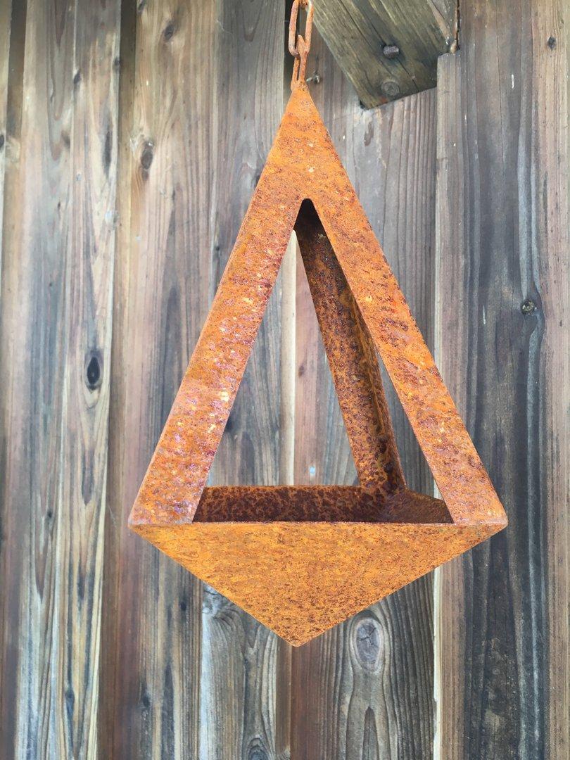 2 in 1 vogeltr nke bzw kerzenhalter pyramide. Black Bedroom Furniture Sets. Home Design Ideas